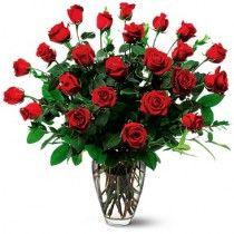 Rosas Premium en florero