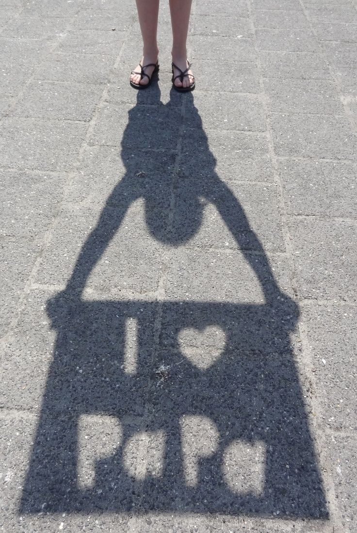 A super cool idea playing with shadows and your child's silhouette.