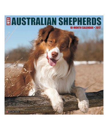 Another great find on #zulily! Just Australian Shepherds 18-Month 2017 Wall Calendar #zulilyfinds