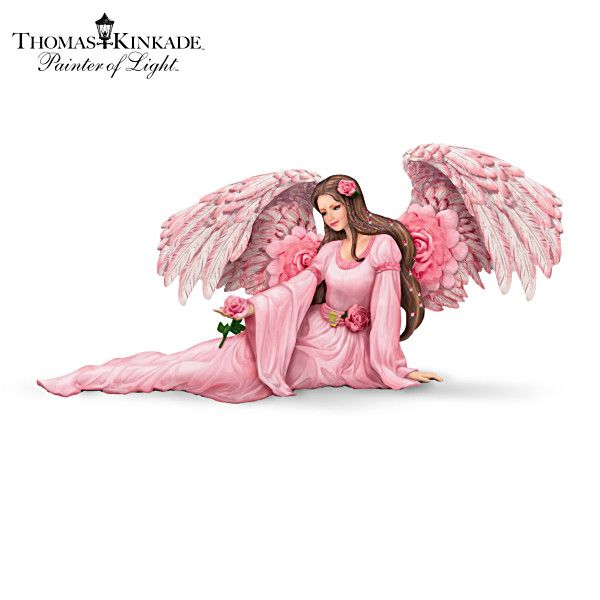 Thomas Kinkade Majestic Rose Figurine