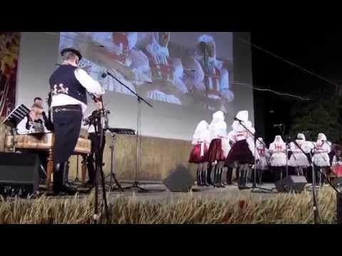 SLOVÁCKÝ ROK 2015 - 44. reportáž: Loučíme se s Klenotnicemi zpěvem Kyjovjáků - YouTube