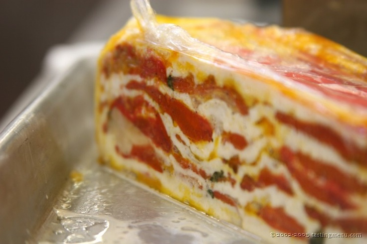 15 best all savory food terrines images on pinterest for Tomato terrine