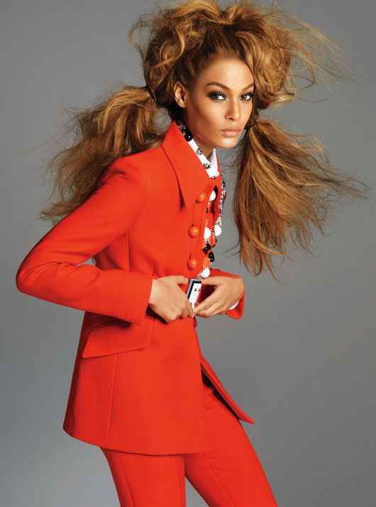 Super Modern Supermodels | Joan Smalls | Steven Meisel #photography | W Magazine July 2012