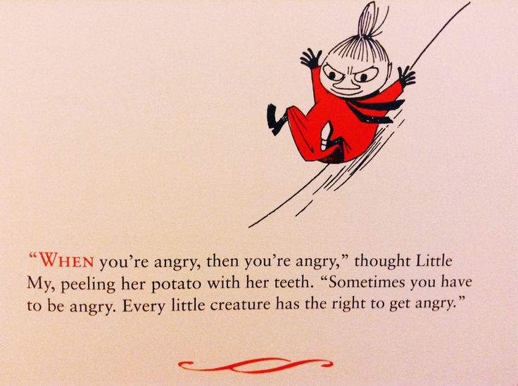 """toofrenchtofunction: """" gallifreyburning: """" @allrightfine """" little my is my favorite moomin character for a reason """""""