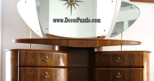browse our article of the latest white dressing table designs and ideas in 2018, modern dressing table designs for small bedroom, wooden dressing table, wall mounted dressing table designs photos