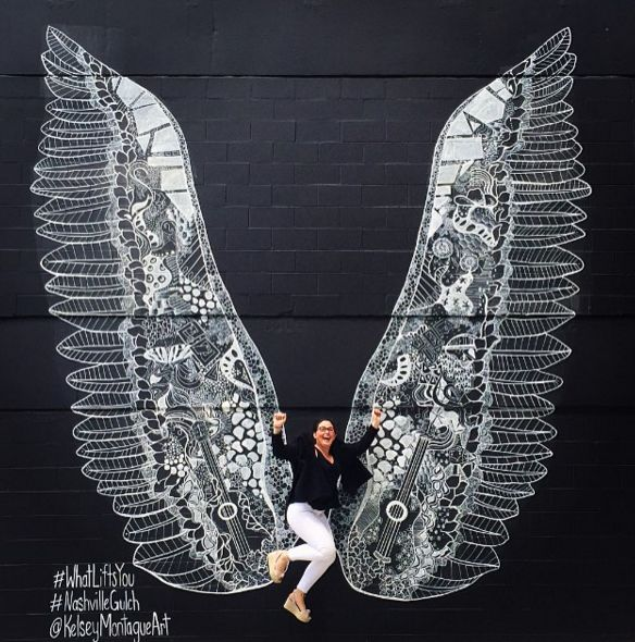 You know you want that PERFECT Music City selfie... 14 murals to find.