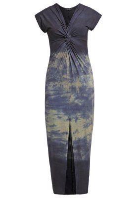 Fotsid kjole - blue delave'/sage green