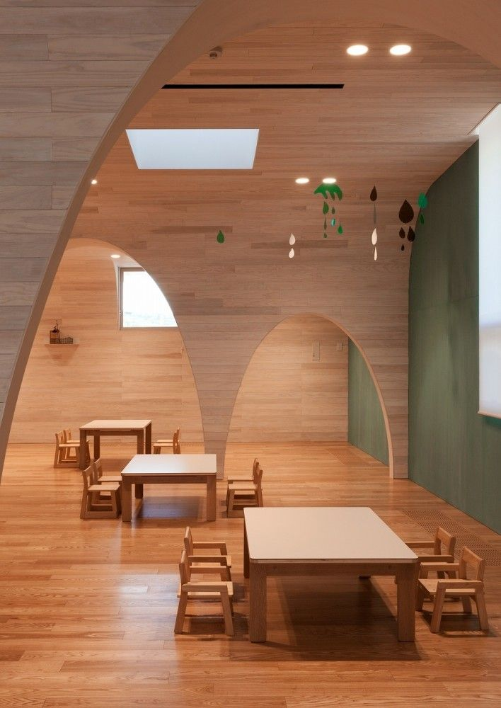 Leimond-Shonaka Nursery School / Archivision Hirotani Studio - wow look at that architecture!