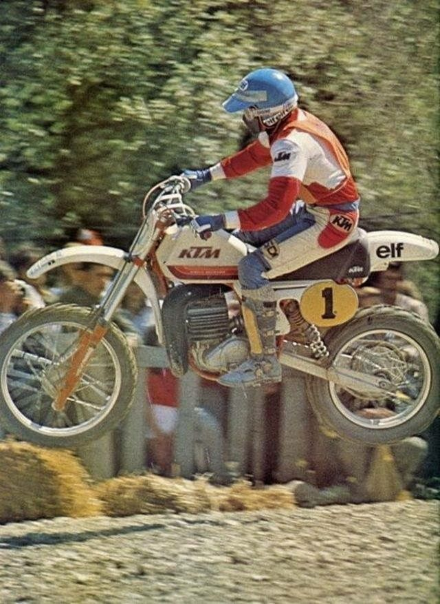 Jean Jacques Bruno - KTM - vintage motocross