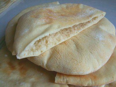 Homemade Pita Pocket Bread   Tammy's Recipes