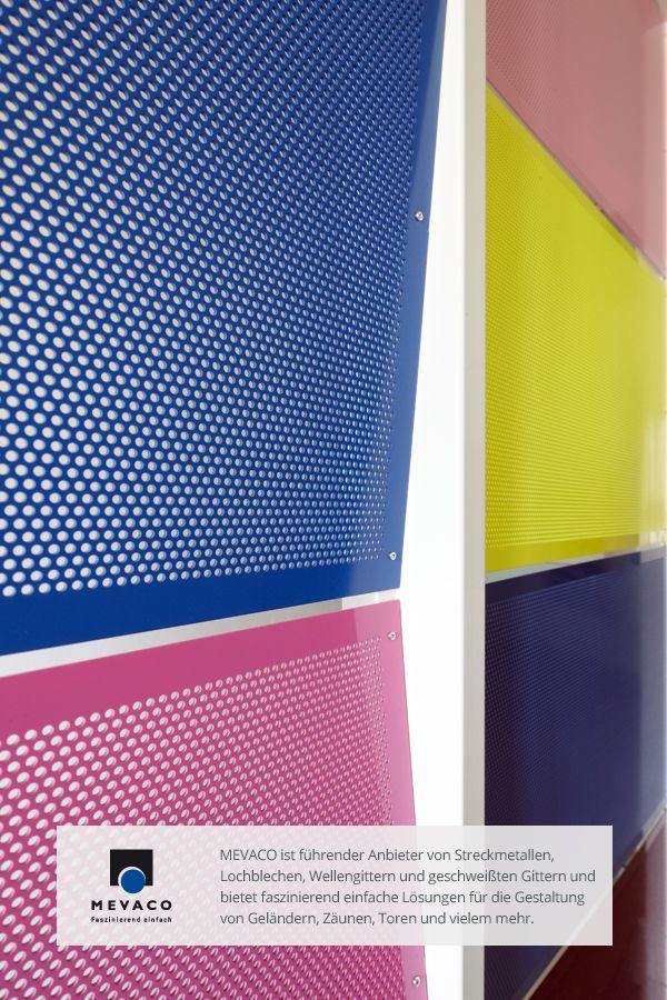 Luftig-leichtes Design und Stabilität werden auf dieser Musterwand von dem italienischen Architekten Rossi Rolando vereint. So entsteht ein einzigartiges Treppenhaus. Mehr unter www.mevaco.de/fascination-3 #MEVACO #Lochblech #Treppe #FaszinationNo3