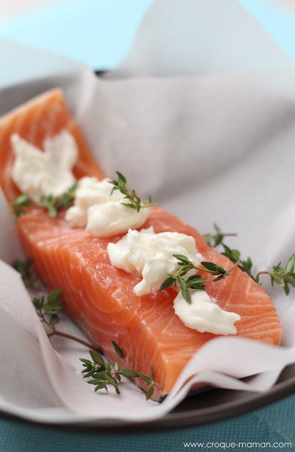 68 best cuisine fum le saumon images on pinterest - Saumon en papillote ...