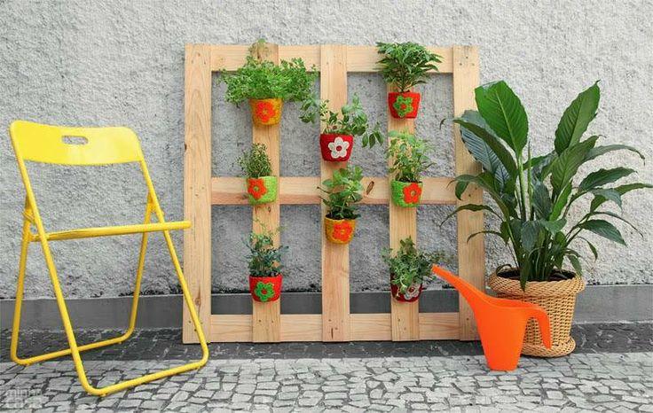 ...: Gardens Ideas, Jardim Vertical, Palet Decor, Google Search, Idea For, House, Pallet, Pallets Palet, My House