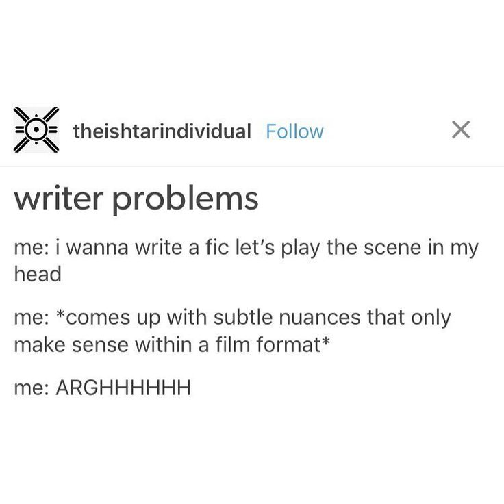 This is why I decided to try writing a script. Very, very different and not something I'll do all the time, but it's a good exercise and PERFECT for those nuances
