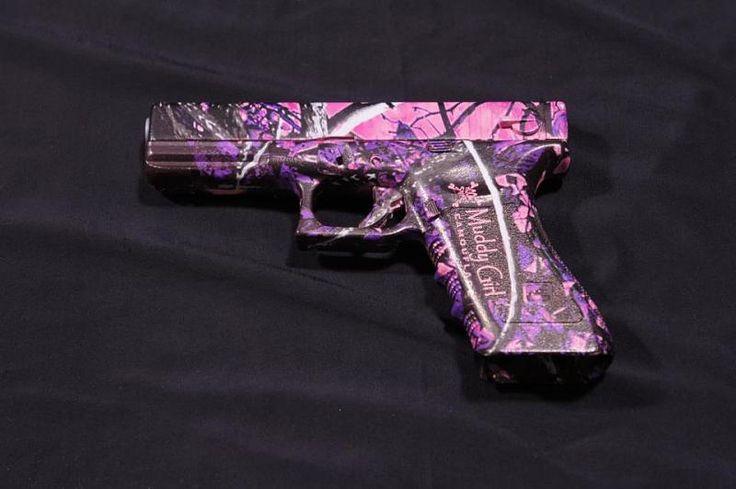Pink camo Glock 9Mm | Pink Glock Guns | Guns | Pinterest ...