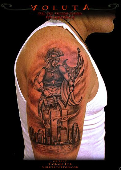 St Florian Firefighter Tattoo - Google Search