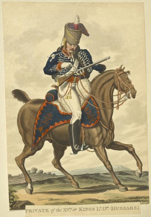 XVth Hussars (Light Dragoons) - Vinkhuijzen Collection