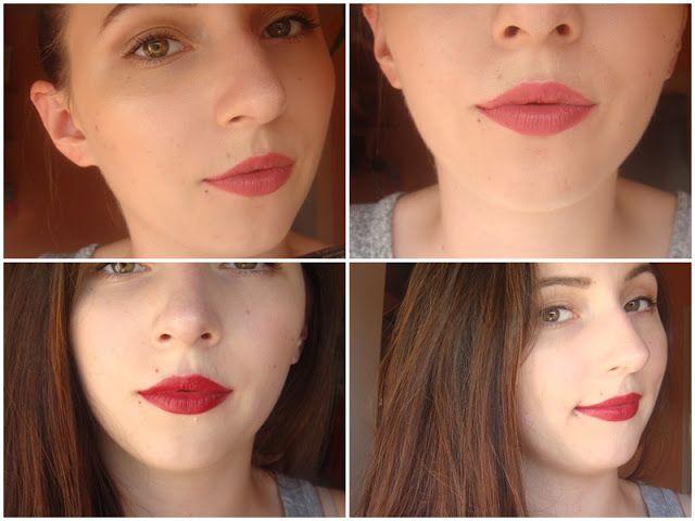 Babski świat: Golden Rose Matte Lipstick Crayon 11 & 05