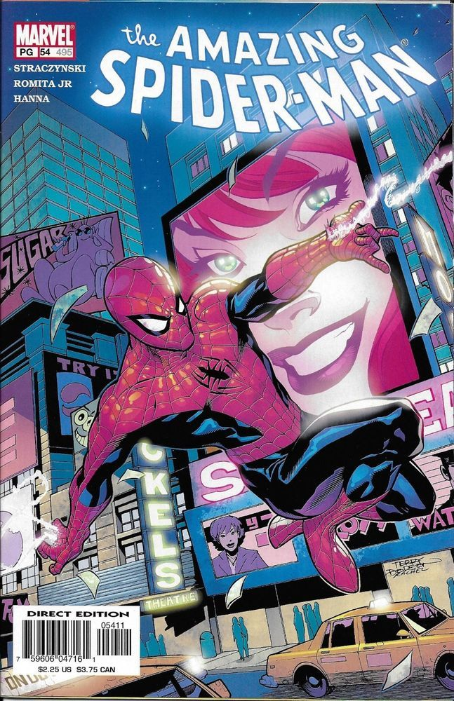 Marvel The Amazing Spider-Man comic issue 54