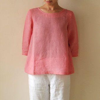 Envelope Online Shop - Pattern blouse model 04 Simple blouse