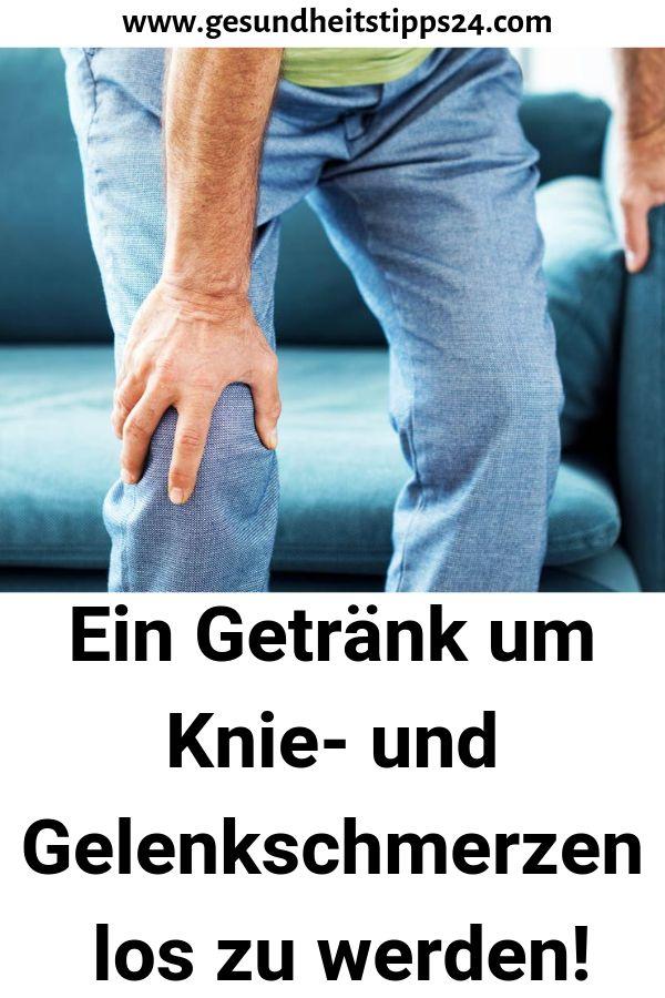Ein Getränk um Knie- und Gelenkschmerzen los zu …