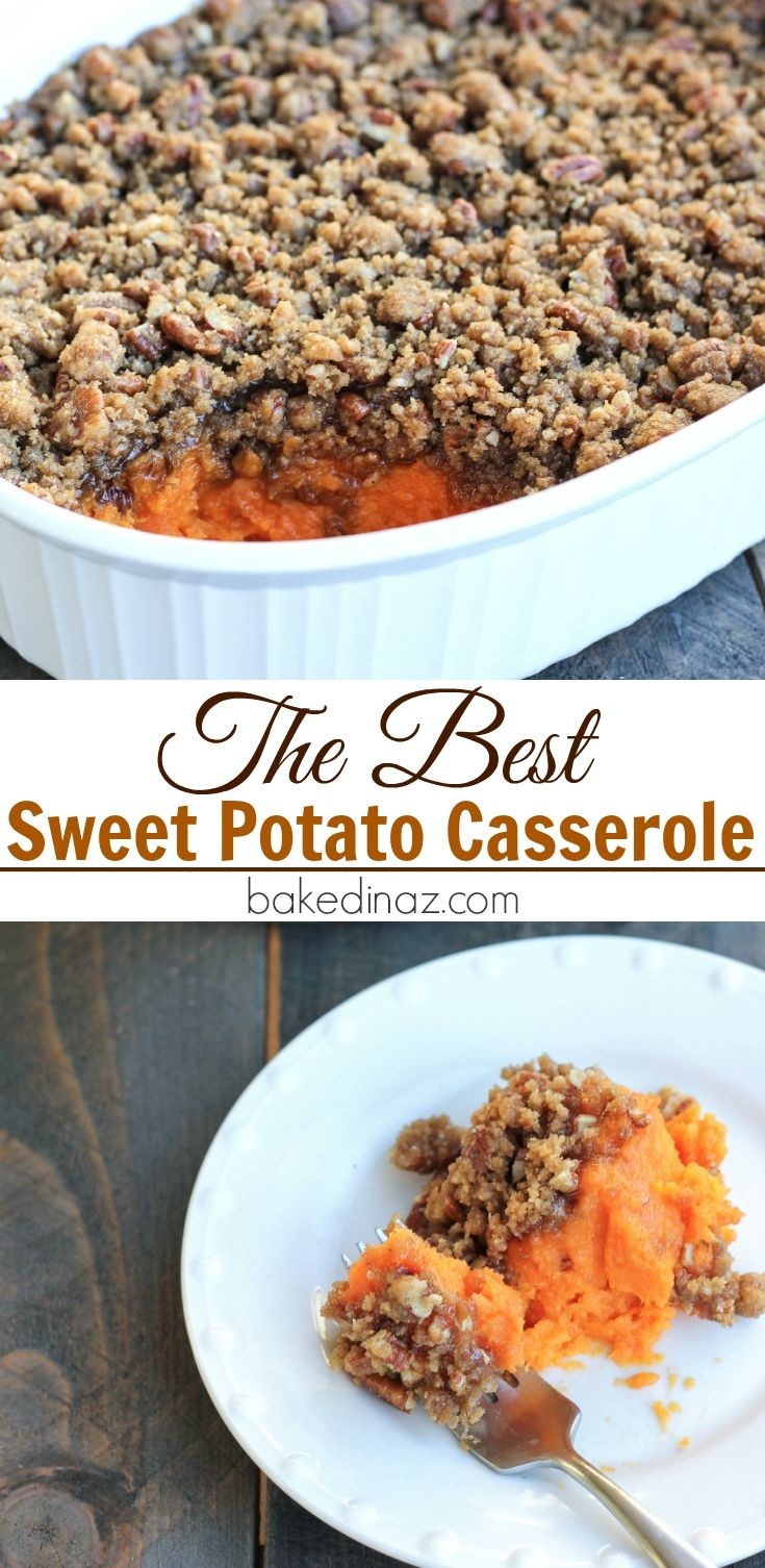 Sweet Potato Casserole Recipe Best Of Pinterest Pinterest