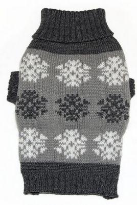 Sveter Snow Grey -  Oblečenie a doplnky pre psov. BOUTIQUE RICKY - Oblečenie pre psov, móda pre psov.