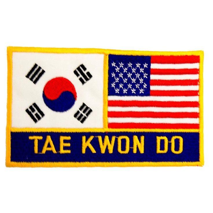 Korean American Taekwondo Patch