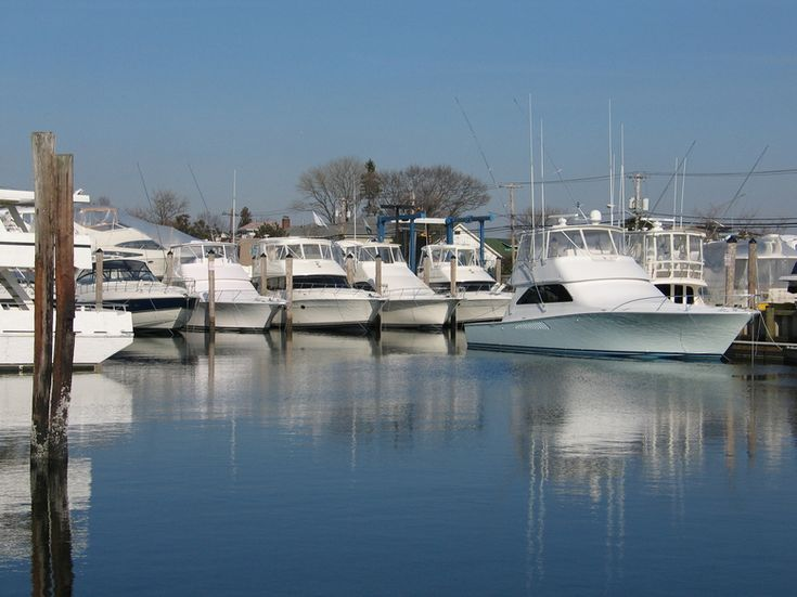 Freeport, NY : Boats Docked onThe Freeport Nautical Mile |Pinned from PinTo for iPad|