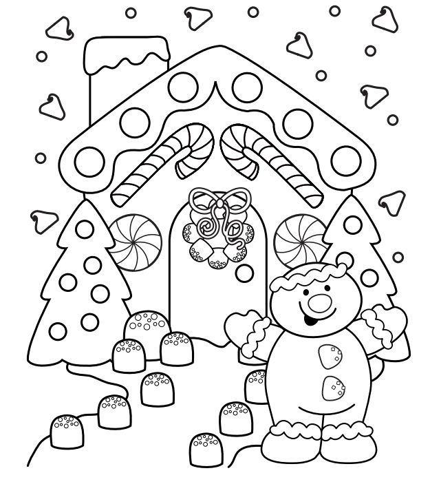 Pin By Erika Burris On Markers Free Christmas Coloring Pages Christmas Colors Christmas Coloring Pages