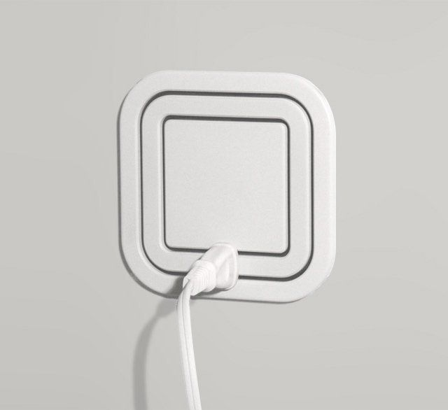 Plug it in anywhere.  (Node Power Outlet.)    O.o     I want!
