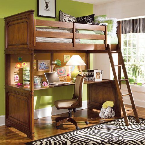 Classics Wood Loft Bed By Lea Furniture
