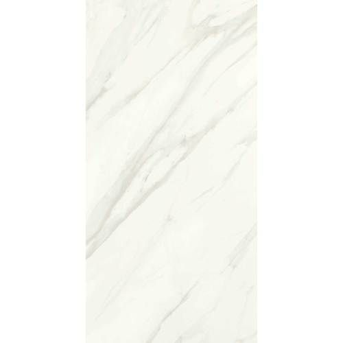 Daltile Florentine Glazed Porcelain Carrara FL06 10x14 Kids' bathroom bath surround Mapei grout 38 Avalanche (white)