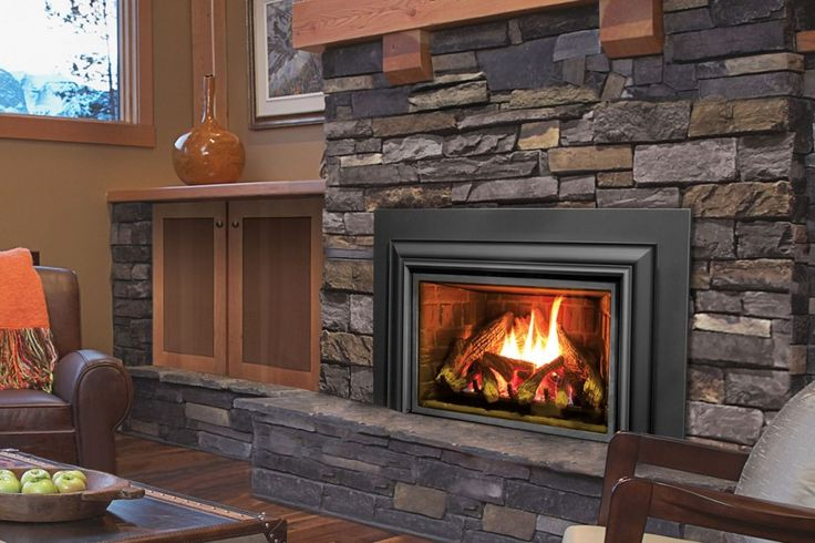 Fireplace inserts wood burning with blower contemporary for Contemporary fireplace insert