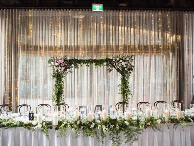 139 best the knot weddings images on pinterest knot knots and wedding reception ideas for bridal table couple celebrate wedding at view junglespirit Images