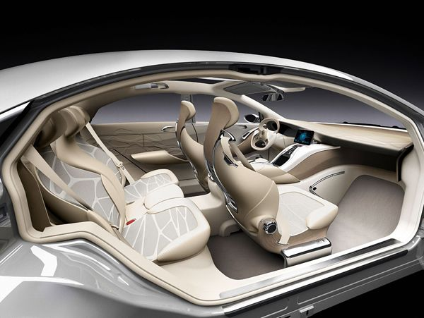 Mercedes Benz F800 Vision Of Luxury Car The Future From