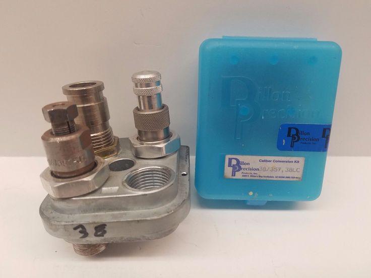 Dillon Precision 38 / 357 / 38 LC Caliber Conversion Kit Good Condition