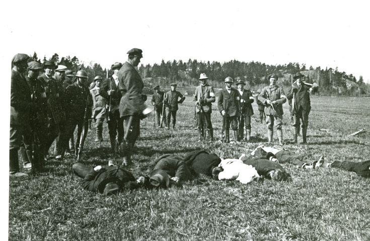Resultado de imagen de finnish civil war german