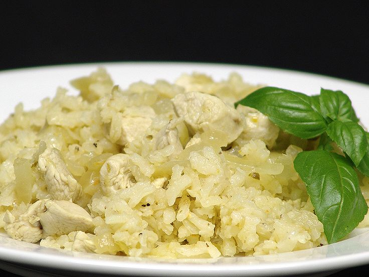 how to make chicken risotto in rice cooker