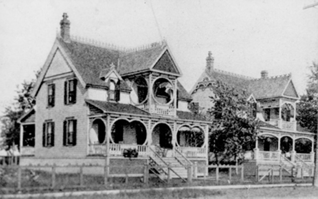 One of the many summer cottages along the Beach Strip, Hamilton.