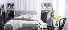 Fantasticas ideas de closets detras de la cama