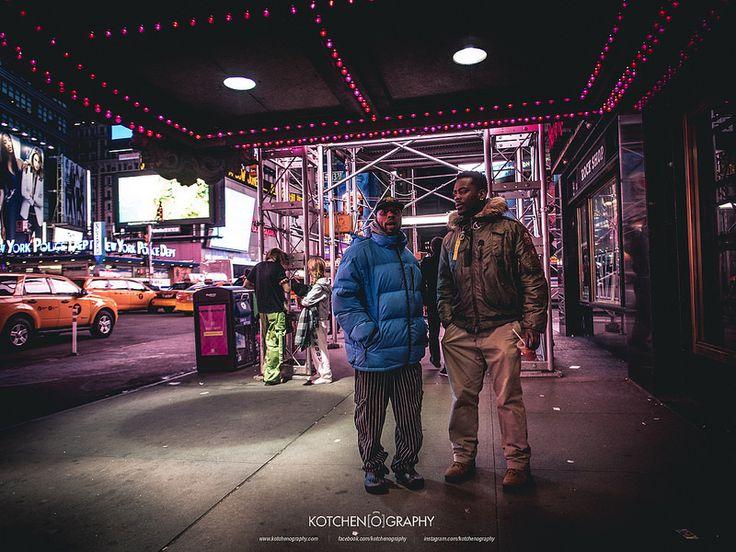Times Square Streets - www.kotchenography.com/printshop