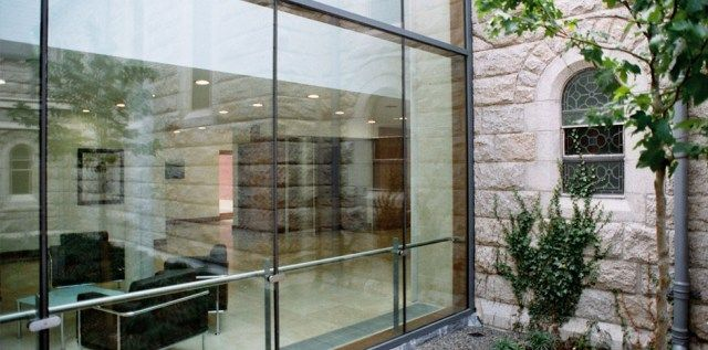 Oms Blackrock Hospice – Apartments, Dublin – OMS Architects #hotel #breaks http://hotels.remmont.com/oms-blackrock-hospice-apartments-dublin-oms-architects-hotel-breaks/  #blackrock hospice # Blackrock Hospice Apartments, Dublin Blackrock Hospice Apartments, Dublin. Situated in the former Carmelite Monastery site, this development includes 52 apartments which helped to fund a 3,000 sq metre hospice. The scheme responds to the site by allowing the apartments form a new edge onto the Frascati…