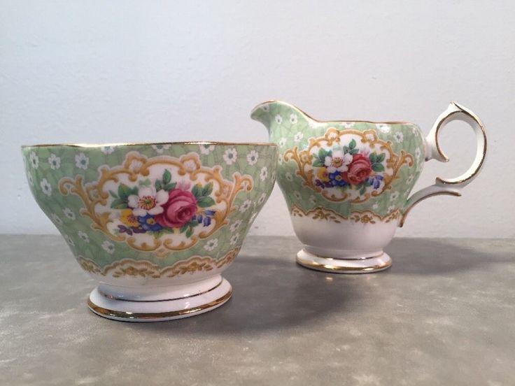 2 Pc Sugar & Creamer - Gainsborough Fine Bone Bell China, England | eBay