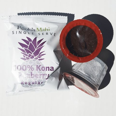 Pooki's Mahi® 100% Kona Coffee Peaberry pod for Single Serve Coffee Makers, 72 Count | Jet.com