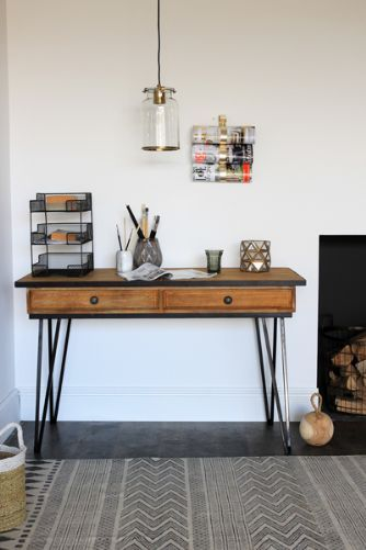 Wooden  Metal Desk