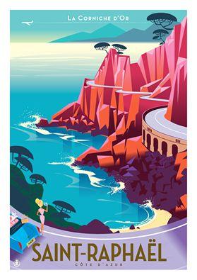 Monsieur Z / Noubliez pas! Affiches et cartes postales sont désomais disponibles à l'Office de tourisme de St-Raph