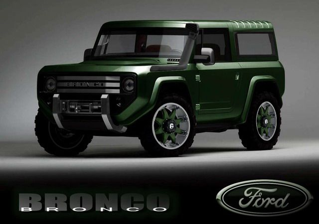 Please let Ford re-release this!!!  2015 Ford Bronco!