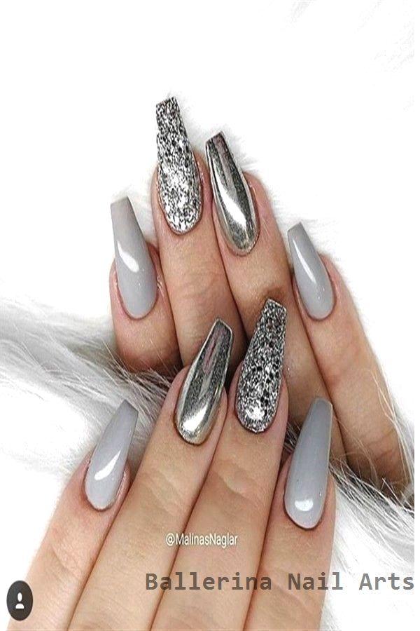 Beliebte Designs für Ballerina-Nägel #nailartideas – Nägel