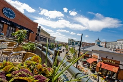 A beautiful summer day at Bayshore Town Center - Glendale, WI  #Bayshore
